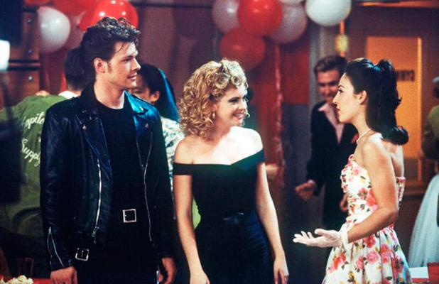 It's a Mad... Mad Season Opener' - Season Three - 9/25/98, Nate Richert (Harvey), Melissa Joan Hart (Sabrina), Lindsay Sloane (Valerie),