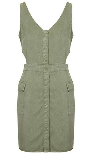 Topshop utility dress £36