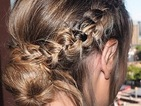 Copy TOWIE star Lauren Pope's gorgeous Grecian style braid!