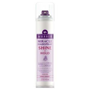 Aussie hold and shine hairspray £4.99 superdrug 29 april