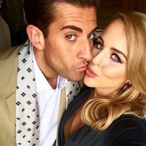 Lydia Bright and James Arg Argent, Instagram 28 April