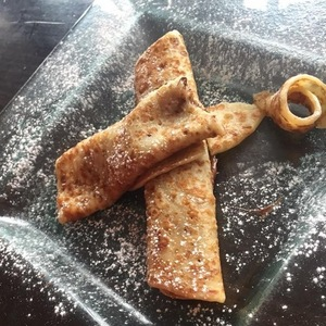 Mark Wright posts photo of crepe, Twitter 29 April