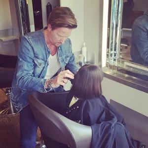 Myleene Klass' daughter gets the same hair cut as her, Instagram 30 April