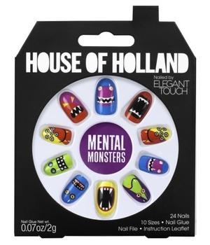 House of Holland False Nails Mental Monsters