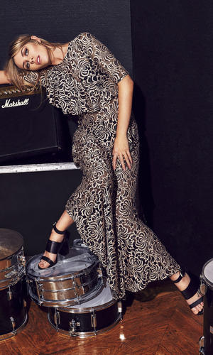 Abbey Clancy stars in a series of shots for new Matalan collection 29 april
