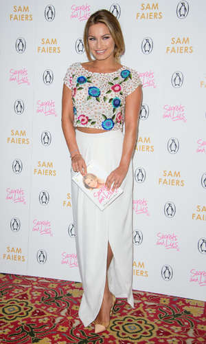 Sam Faiers launches her new book 'Secrets and Lies: The truth behind the headlines' - 30 April 2015.
