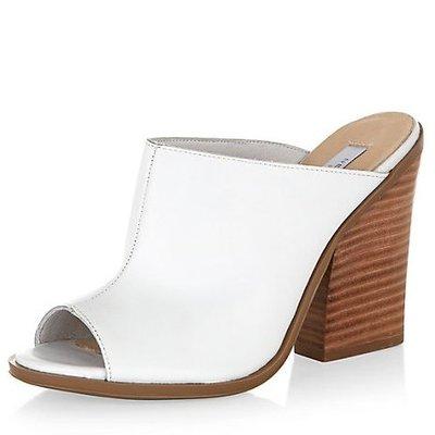 white mule new look £39.99
