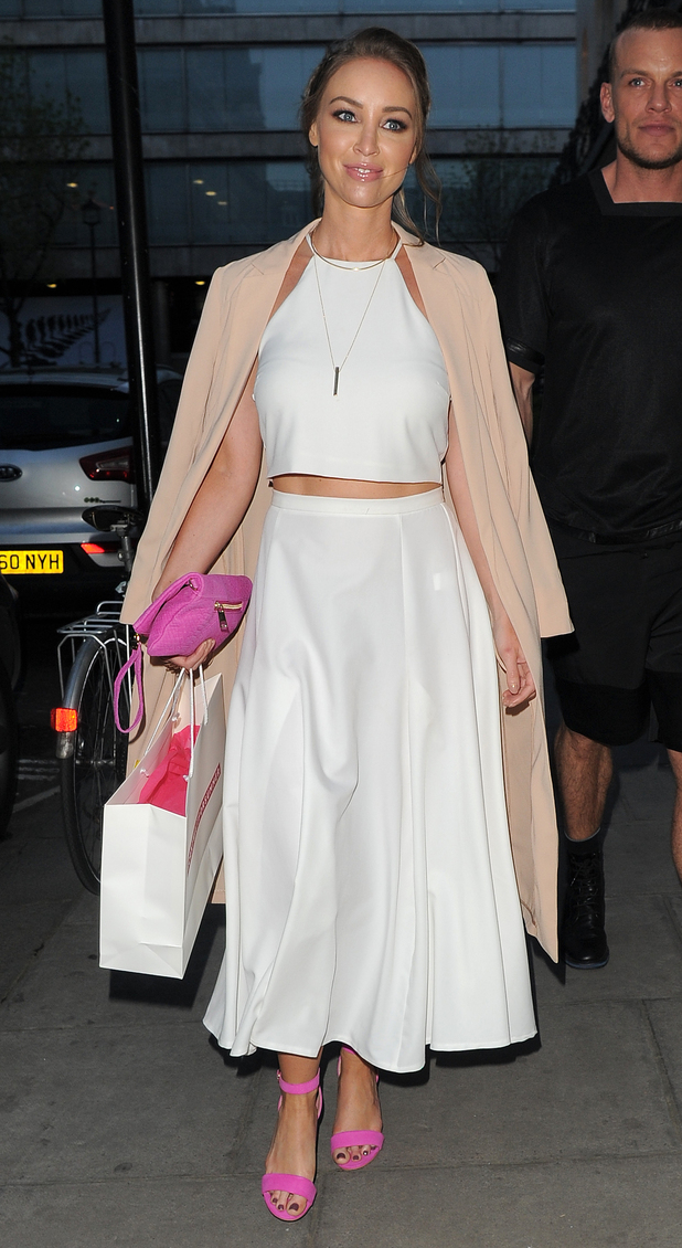 Towie's Lauren Pope at the very.co.uk cant wait for summer event 29 april, london