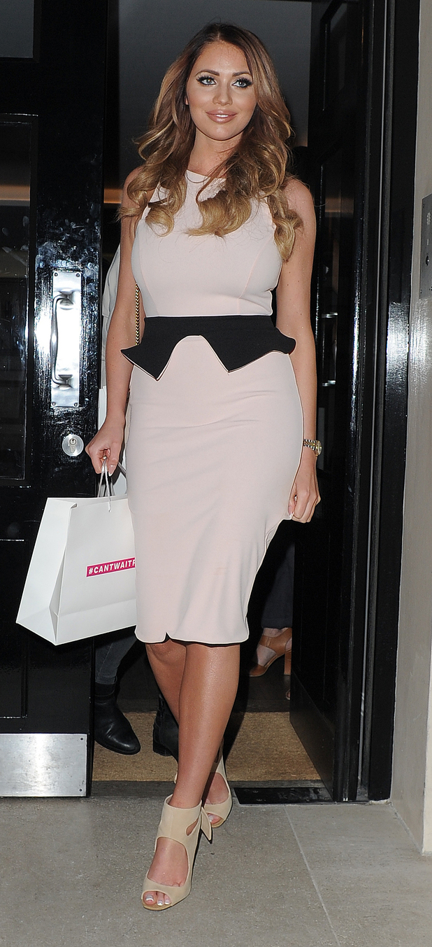 Towie's amy childs at the very.co.uk cant wait for summer event 29 april, london
