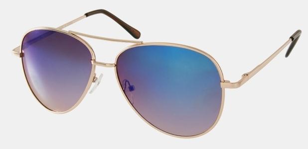 mirrored aviator sunglasses jeepers peepers £17.99