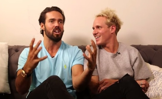 Spencer Matthews and Jamie Laing discuss holiday bugbears for British Airways 27th April 2015