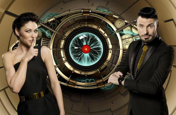Emma Willis and Rylan Clark pose in new promo photo of Big Brother: Timebomb 2015 series - 29 April 2015.