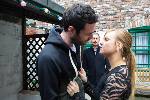 Corrie, Nick catches Callum and Sarah, Wed 29 Apr