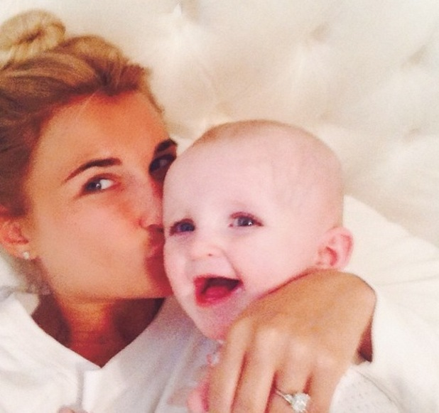 Billie Faiers and Nelly, Instagram 1 May