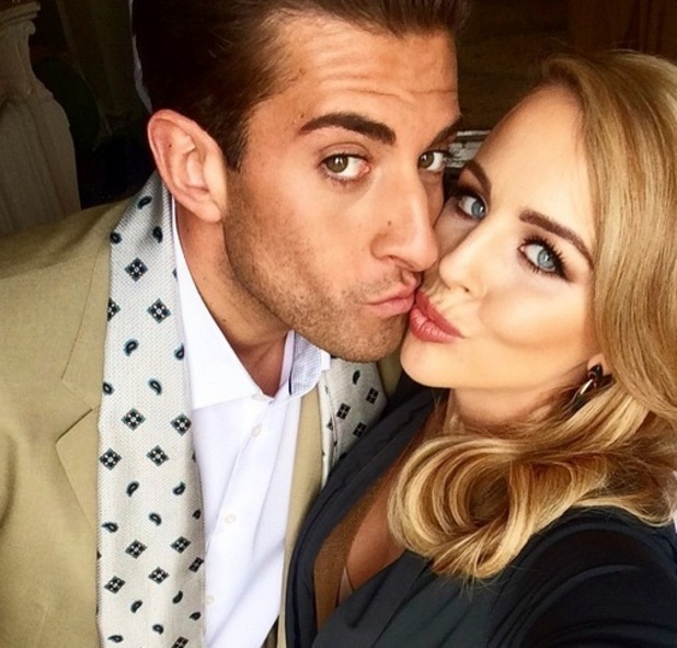 Lydia Bright and James Arg Argent, Instagram 28 April