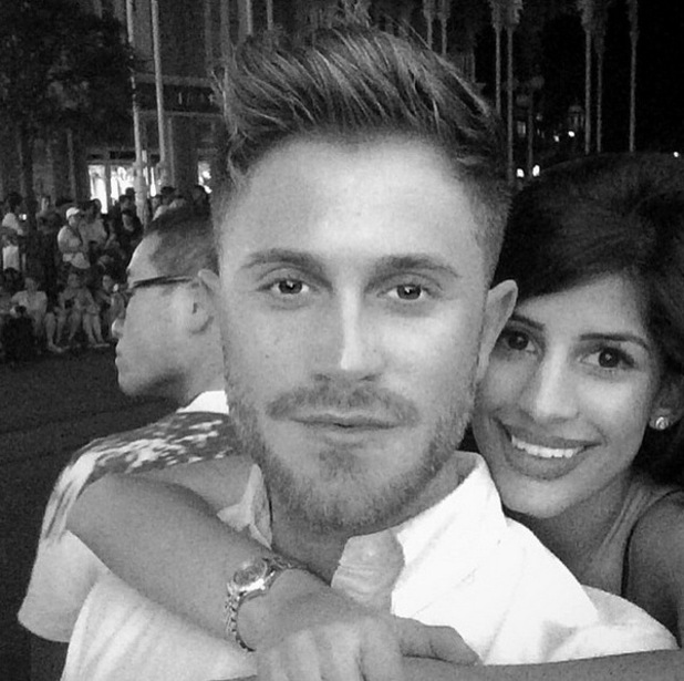 Jasmin Walia and Ross Worswick in Florida, Instagram 27 April