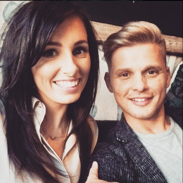 Jeff Brazier and his girlfriend Kate
