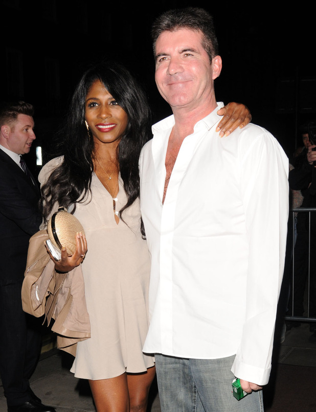 Simon Cowell and Sinitta at Britain's Got Talent wrap party held at 45 Park Lane