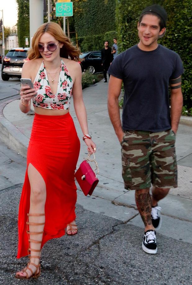 Bella Thorne in Los Angeles 27 april