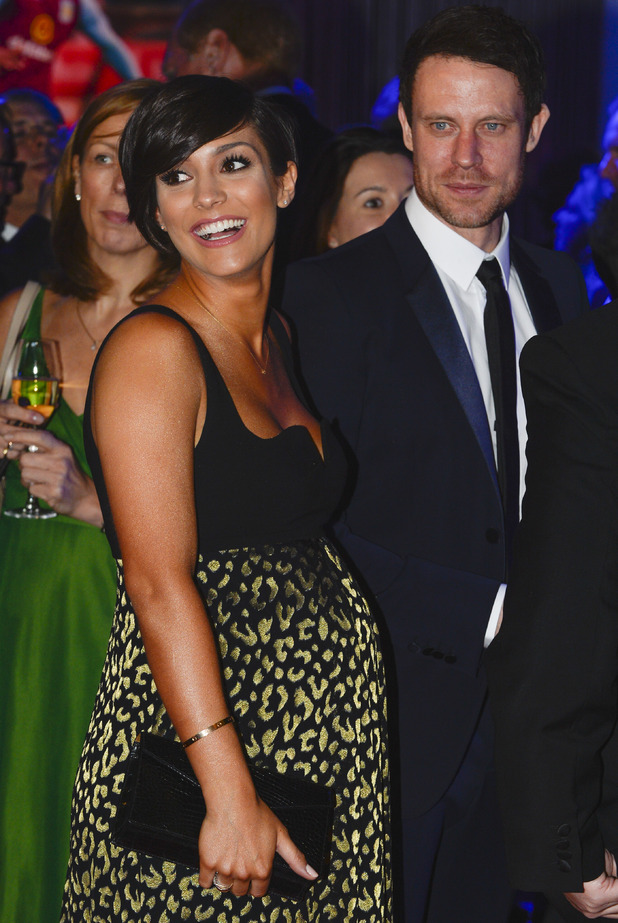Frankie and Wayne Bridge at the BT Sport Industry Awards held at the Battersea Evolution - 30 April.