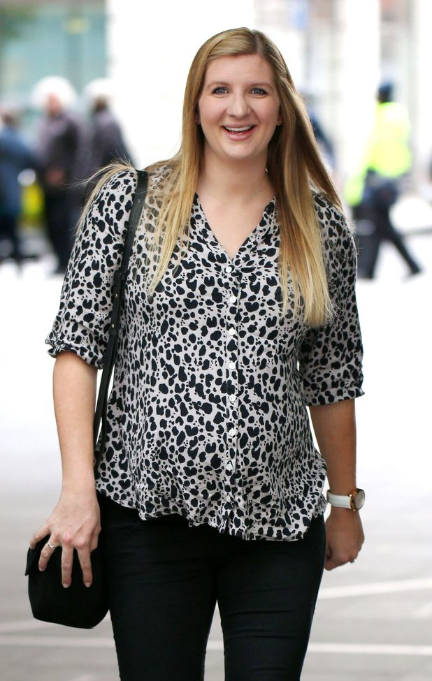 Rebecca Adlington out and about, London, Britain - 30 Apr 2015