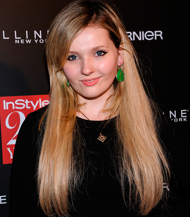 Abigail Breslin at InStyle 20th Anniversary Party held at Diamond Horseshoe - Arrivals 2014