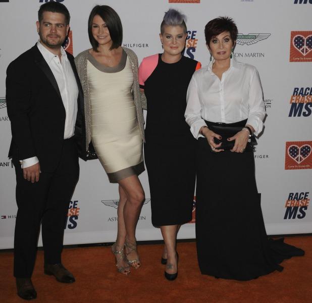 The Osbourne family at 22nd Annual Race To Erase MS at Hyatt Regency Century Plaza, 26 April 2015
