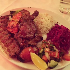 Holly Hagan The Body Bible Blog - Day 6 dinner