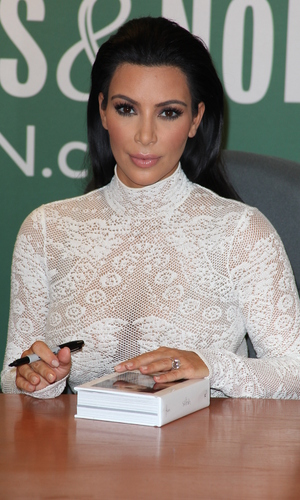 Kim Kardashian at Barnes & Noble for a book signing for her new book 'Selfish' - 5 May.