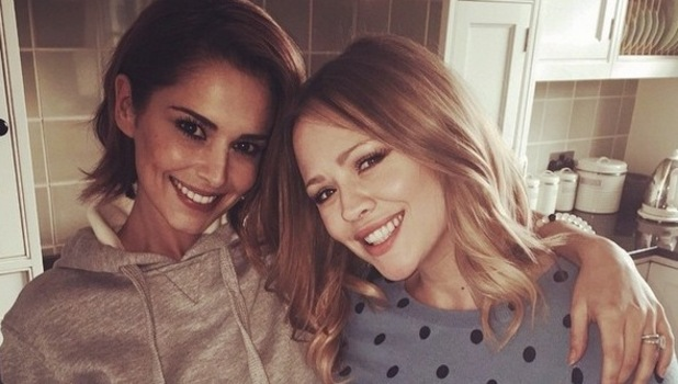 Cheryl Fernandez-Versini and Kimberley Walsh, Instagram 5 May