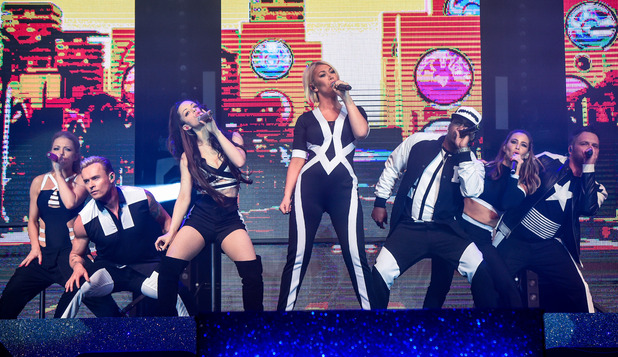 S Club 7 live in Birmingham on opening night of UK Tour, 7th May 2015