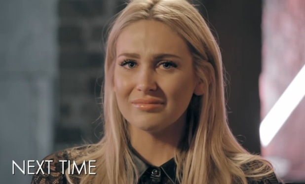 Stephanie Pratt in tears after Lucy Watson and Josh Shepherd clash in next week's episode of Made In Chelsea. Preview shown on 5 May 2015.