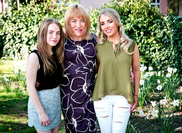 Sophie and Libby Maloney, We prefer Kellie to Frank!