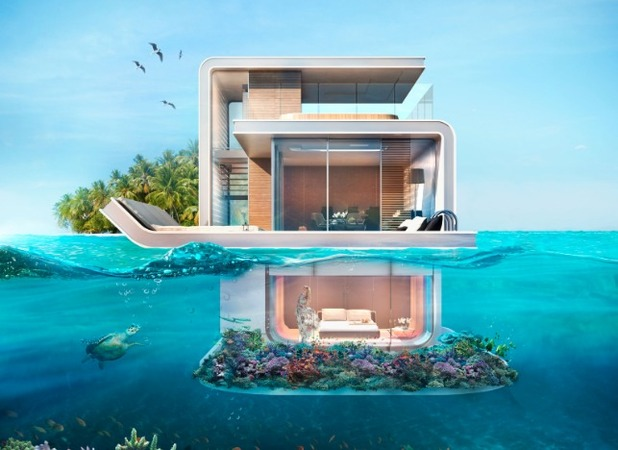 The Floating Seahorse, a boat-come-villa with amazing underwater views