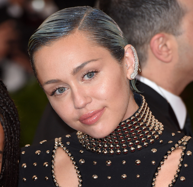 Miley Cyrus at the Met Gala in New York 4th may