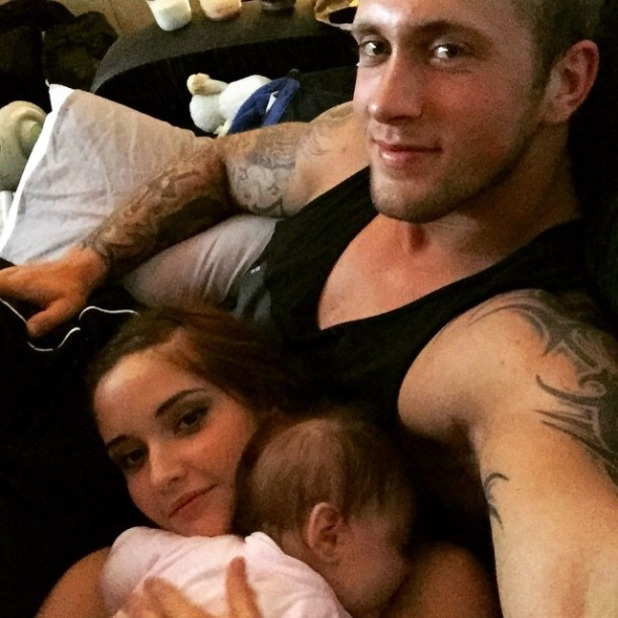Dan Osborne shares adorable snaps of daughter Ella and Jacqueline Jossa, 8 May 2015