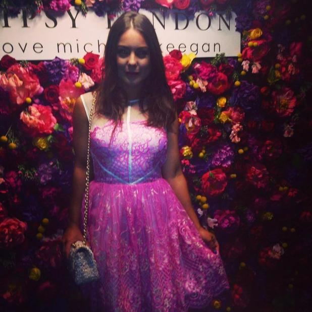 Made In Chelsea's Louise Thompson at Michelle Keegan's Lipsy collection launch - 7 May 2015.