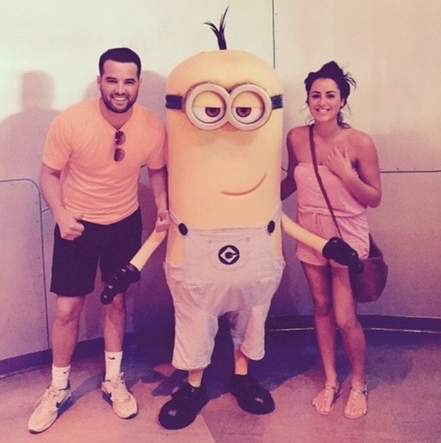 Ricky Rayment and Marnie Simpson at Universal Studios, Instagram 2 May