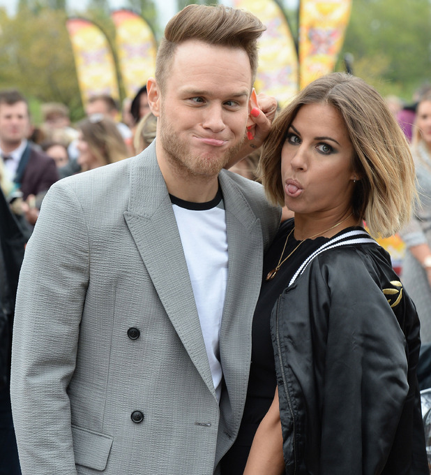 Caroline Flack and Olly Murs reunited on The X Factor, 10 May 2015