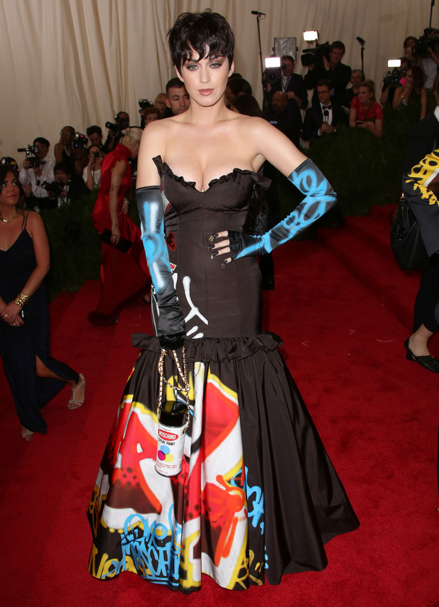 Katy Perry arrives at 'China: Through The Looking Glass' Costume Institute Benefit Gala at the Metropolitan Museum of Art on May 4, 2015 in New York City.