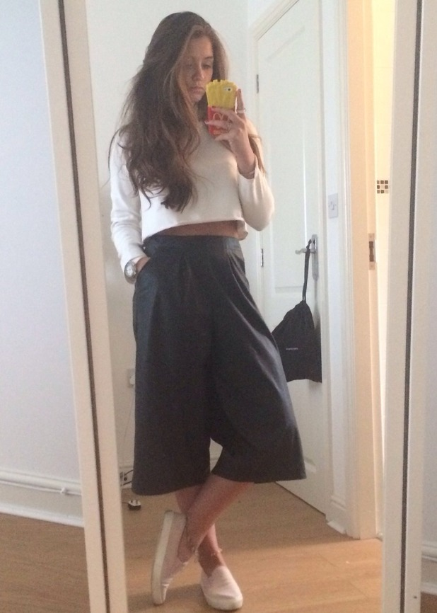 Brooke Vincent trousers - blog post - 6 May 2015.