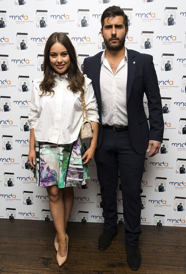 Louise Thompson and Alik Alfus, 'The Theory Of Everything' special film screening, London, Britain,6th May 2015