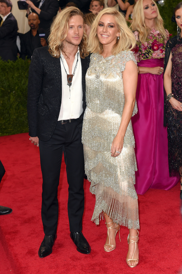 Dougie Poynter and Ellie Goulding, 'China: Through The Looking Glass' Costume Institute Benefit Gala at Metropolitan Museum of Art, New York 4 May