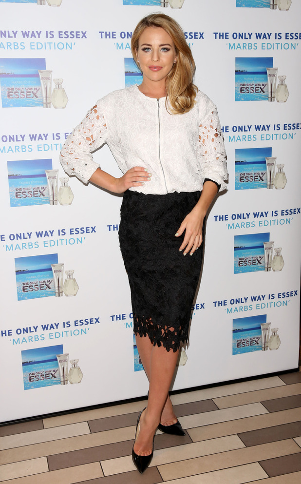 Lydia Bright, The Only Way is Essex cast launch of their newest fragrance, The Only Way is Marbs, 6th May 2015