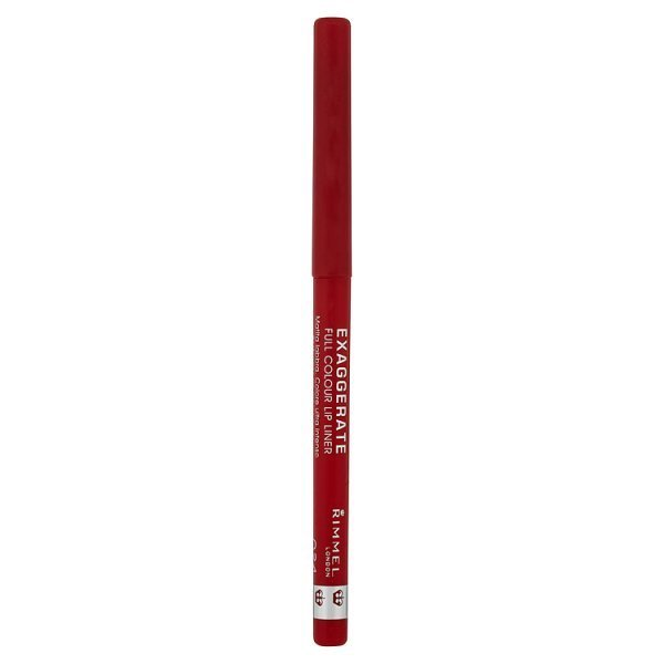 rimmel london exaggerate lip liner in red diva