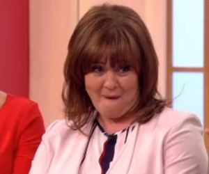 Coleen Nolan and Jake Roche appear on Loose Women together 12 May