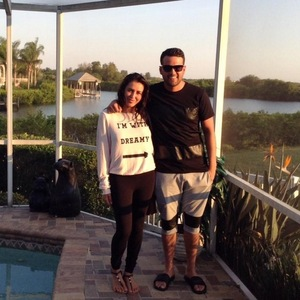 Ricky Rayment and Marnie Simpson, Florida 10 May