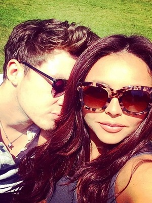 Jake Roche and Jesy Nelson, Instagram 13 May