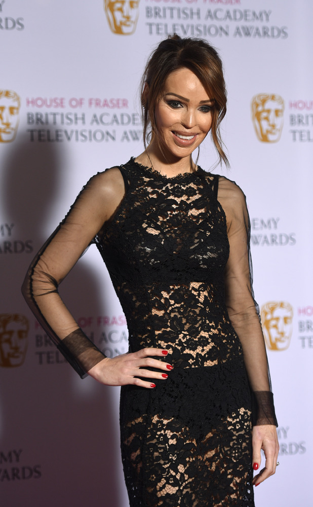 Katie Piper at House of Fraser British Academy (BAFTA) Television Awards held at the Theatre Royal 10/05/15