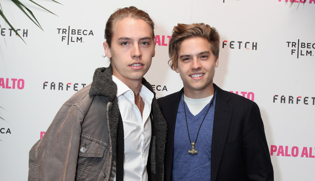 Dylan anad Cole Sprouse, The Tribeca Film Festival after party, New York April 2014